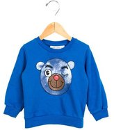 Mini Rodini Boys' Pullover Bear Print Sweatshirt