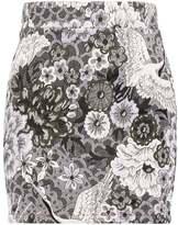 Object OBJPEA Mini skirt gray dawn