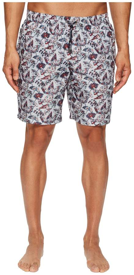 Dolce & Gabbana Mid Length Wagasa Boxer w/ Bag Men's Swimwear