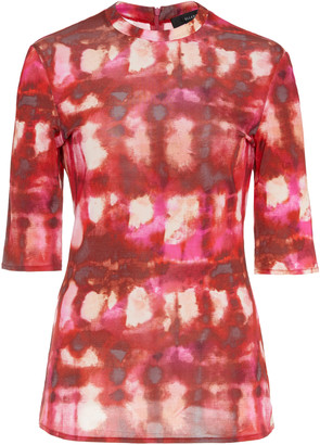 Ellery Land Of The Lost Tie-Dye Cotton Top