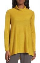 Eileen Fisher Women's Scrunch Turtleneck Sweater