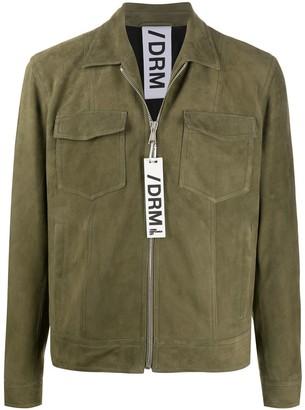Drome suede shirt jacket