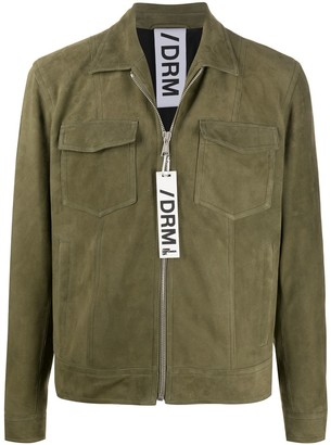 Drome Suede Shirt Jacket