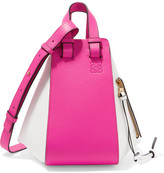 Loewe Hammock Small Two-tone Leather Shoulder Bag - Pink