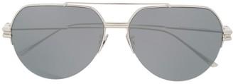 Bottega Veneta Aviator Frame Sunglasses