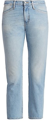 TRE by Natalie Ratabesi The Lazuli High-Rise Cropped Jeans