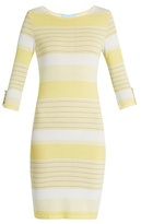 Melissa Odabash Maddie striped-knit mini dress