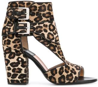 Laurence Dacade Rush leopard print sandals
