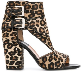 Laurence Dacade Rush leopard print sandals
