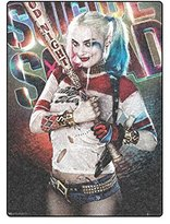 2buymore Custom Blanket Harley Quinn Fleece Blanket 58 X 80 Inch (Large)