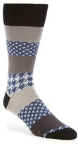 Bugatchi Men's Houndstooth Socks