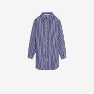 Balenciaga Pulled Shirt Dress