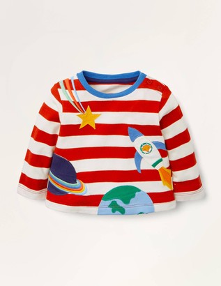 Stripy Applique T-shirt