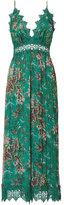 Zimmermann Crinkle Floral Jumpsuit