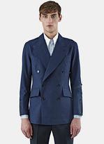 Yang Li Men's Technical Blazer Jacket In Navy