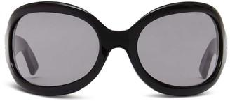 Oliver Goldsmith Sunglasses Yuhu 1966 Black