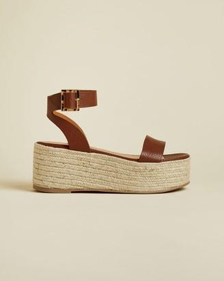 Ted Baker Flatform Espadrille Sandals