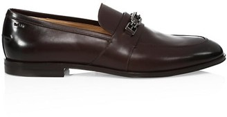 Bally Westminster BB Horsebit Leather Loafers