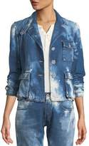 Ralph Lauren Isabele Coastal Denim Safari-Style Jacket