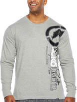 Ecko Unlimited Unltd Long Sleeve Crew Neck T-Shirt-Big and Tall