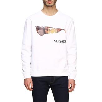 Versace Crewneck Sweatshirt With Glasses Print