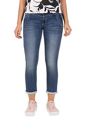 Timezone Women's Slim Nalitz Jeans, (Blue Denim Wash 3041), (Size: 31)