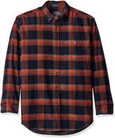 Pendleton Men's Long Sleeve Button Front Corduroy Wayne Shirt