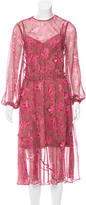 Zimmermann Karmic Sheath Silk Dress w/ Tags