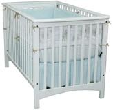 Child Craft London Euro-style Matte White Stationary Crib