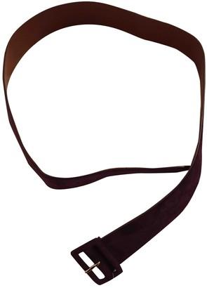 Ralph Lauren Purple Suede Belts