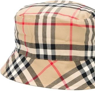 Burberry Kids Reversible Bucket Hat