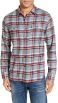 Grayers Men's 'Lear' Trim Fit Plaid Flannel Sport Shirt