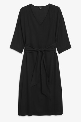 Monki Sheer maxi dress