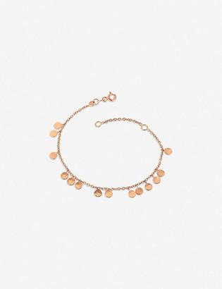 The Alkemistry Kismet by Milka dangle circles 14ct rose-gold bracelet