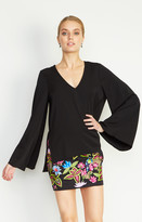 Nicole Miller Bell Sleeve Blouse