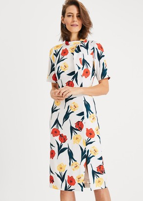 Phase Eight Melinda Floral Printed Dress