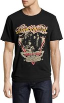 Eleven Paris Aerosmith World Tour T-Shirt, Black