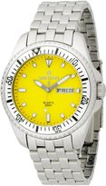 Sartego Men's SPQ57 Ocean Master Japanese Quartz Movement Watch