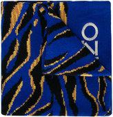Kenzo color block scarf