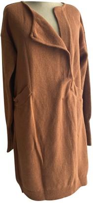 Les Prairies de Paris Camel Wool Dress for Women