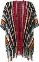 Missoni Mantella knitted poncho - women - Cashmere - One Size
