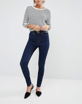 Oasis Skinny Ankle Grazer Indigo Jeans