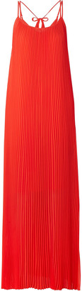 By Malene Birger Obbo Pleated Crepe Maxi Dress
