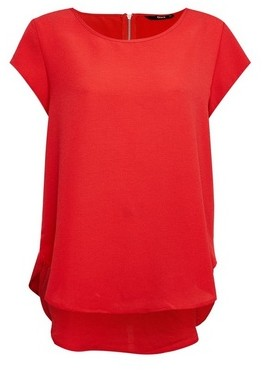 Dorothy Perkins Womens **Only Red Short Sleeve Top, Red