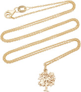 With Love Darling Tree Of Life 14K Gold Necklace
