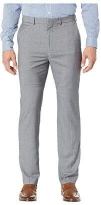 Dockers Slim Fit Flat Front Dress Pants with Stretch (Light Grey) Men's Dress Pants