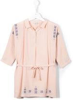 Caramel dandelion dress