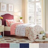 Inspire Q IQ KIDS Blanchard Nailheads Camelback Upholstered TWIN-size Upholstered Bed