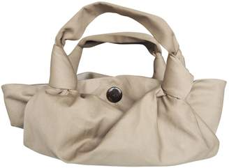 The Row Ascot Beige Linen Clutch bags