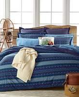 Martha Stewart Matterhorn 100% Cotton Flannel Duvet or Comforter Cover -Twin